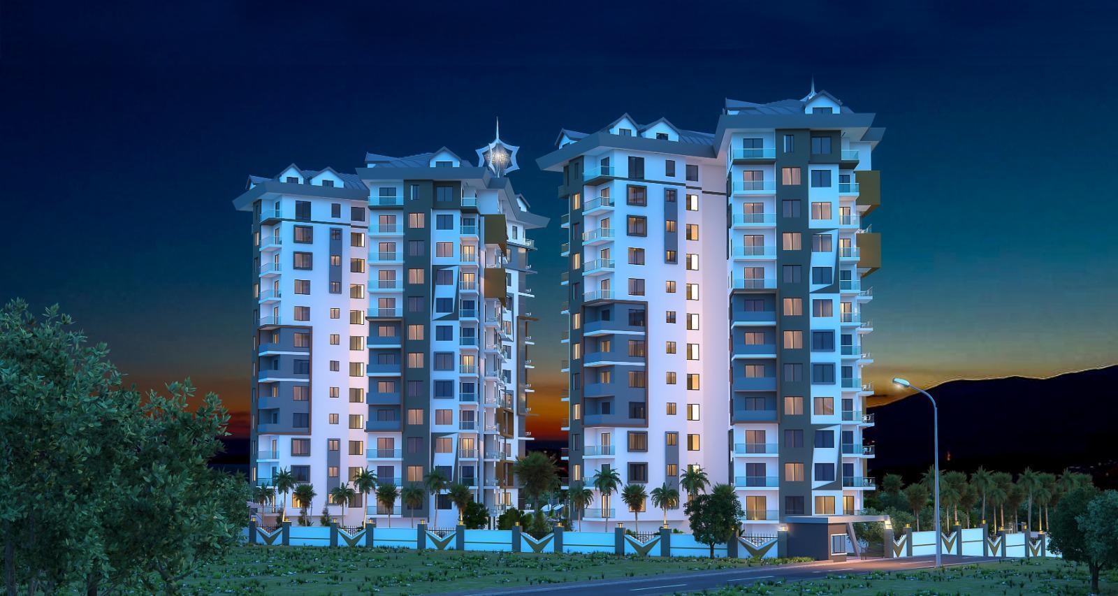 Квартиры и пентхаусы в комплексе с богатой инфраструктурой район Махмутлар - Фото 6