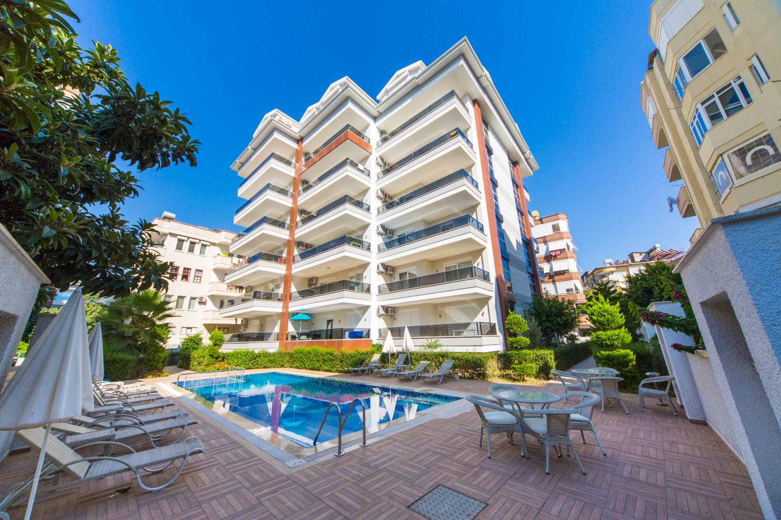 Двухкомнатная квартира с мебелью в 250 метрах от пляжа Клеопатры - Фото 1