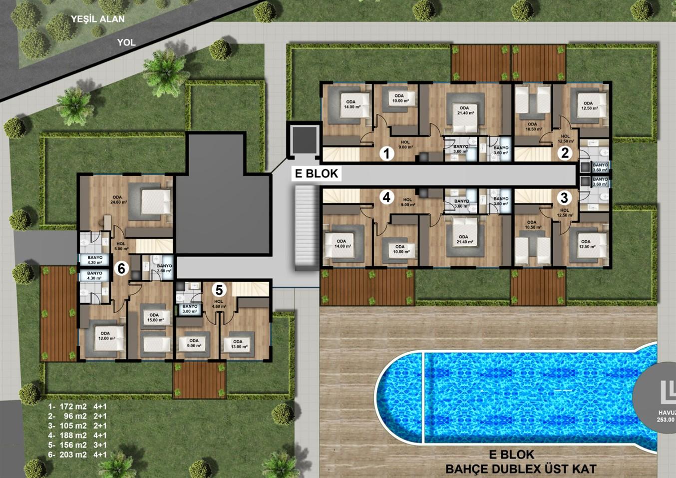 Роскошные квартиры в новом жилом комплексе с инфраструктурой - Фото 18