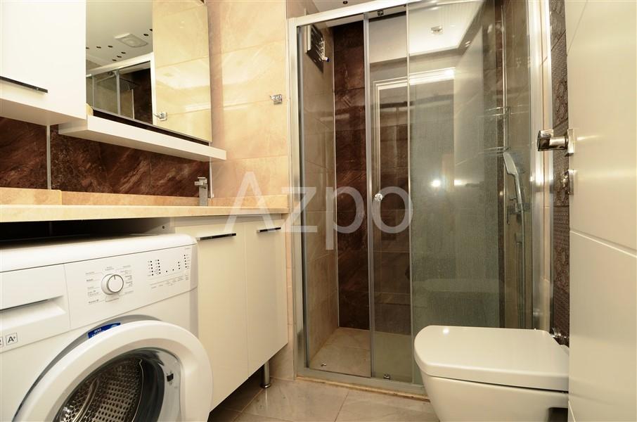 Двухкомнатная квартира с мебелью в центре Алании - Фото 10