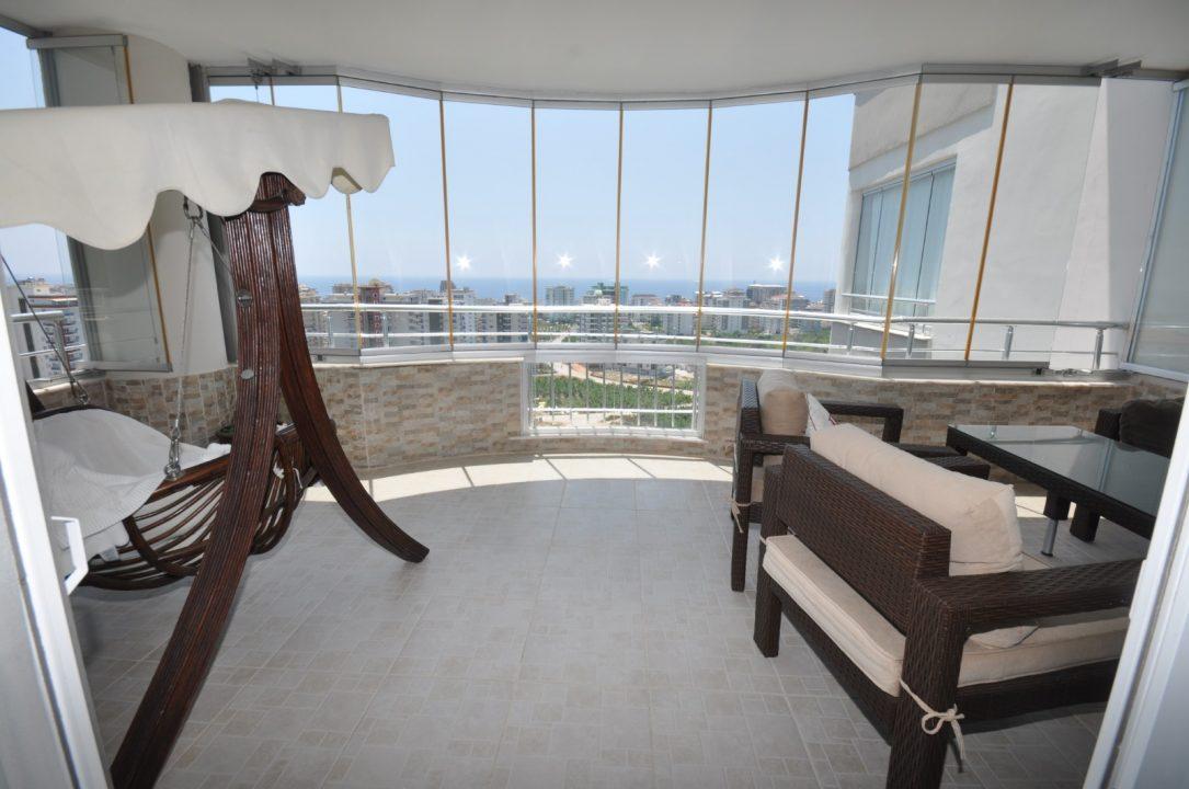 Меблированная квартира 2+1 с видом на море - Фото 24