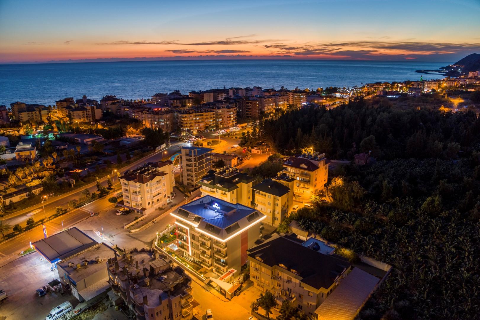Новые квартиры разных планировок в центре Алании - Фото 17