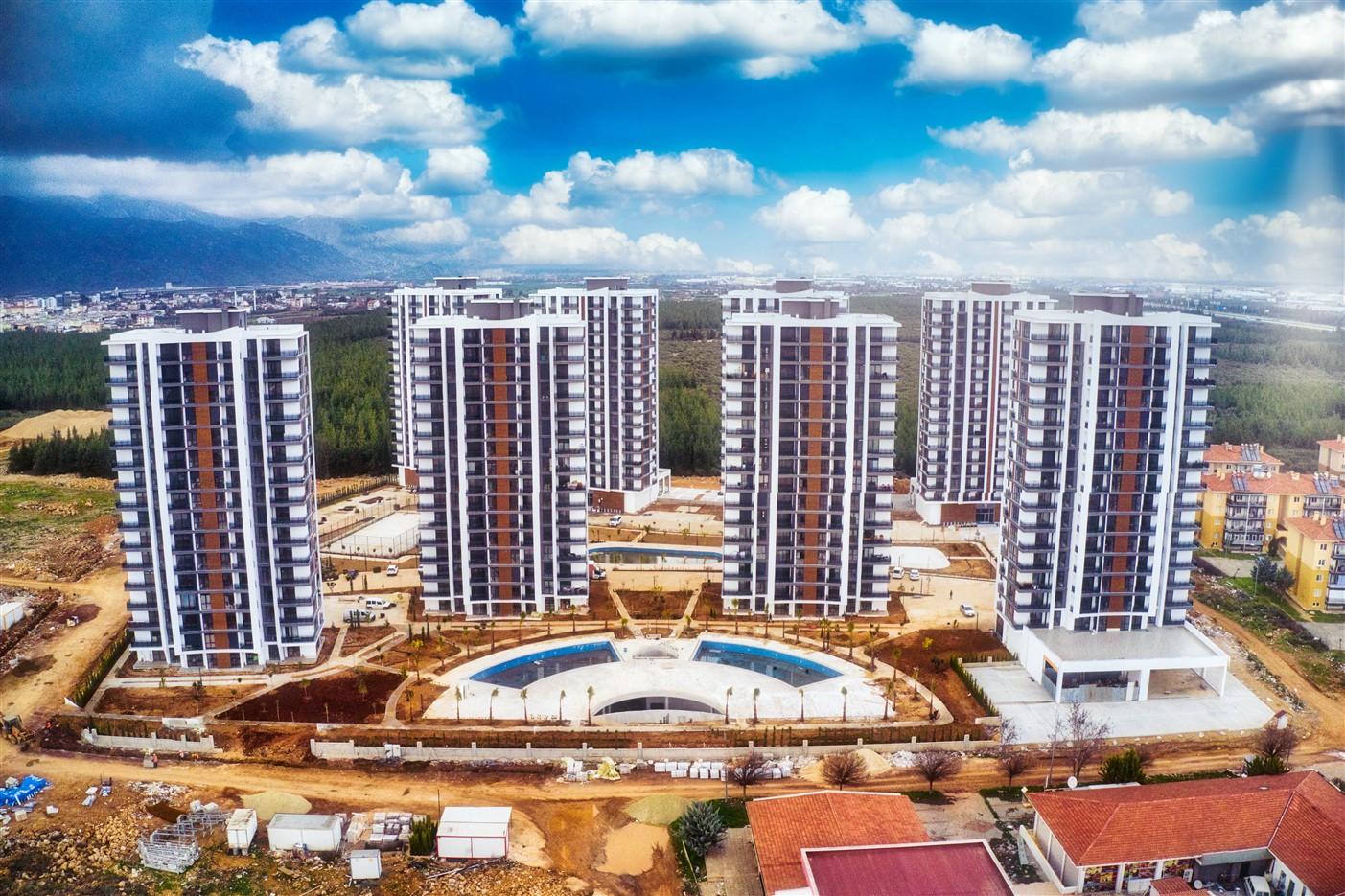 Квартиры в новом комплексе в районе Дошемеалты Анталия - Фото 2
