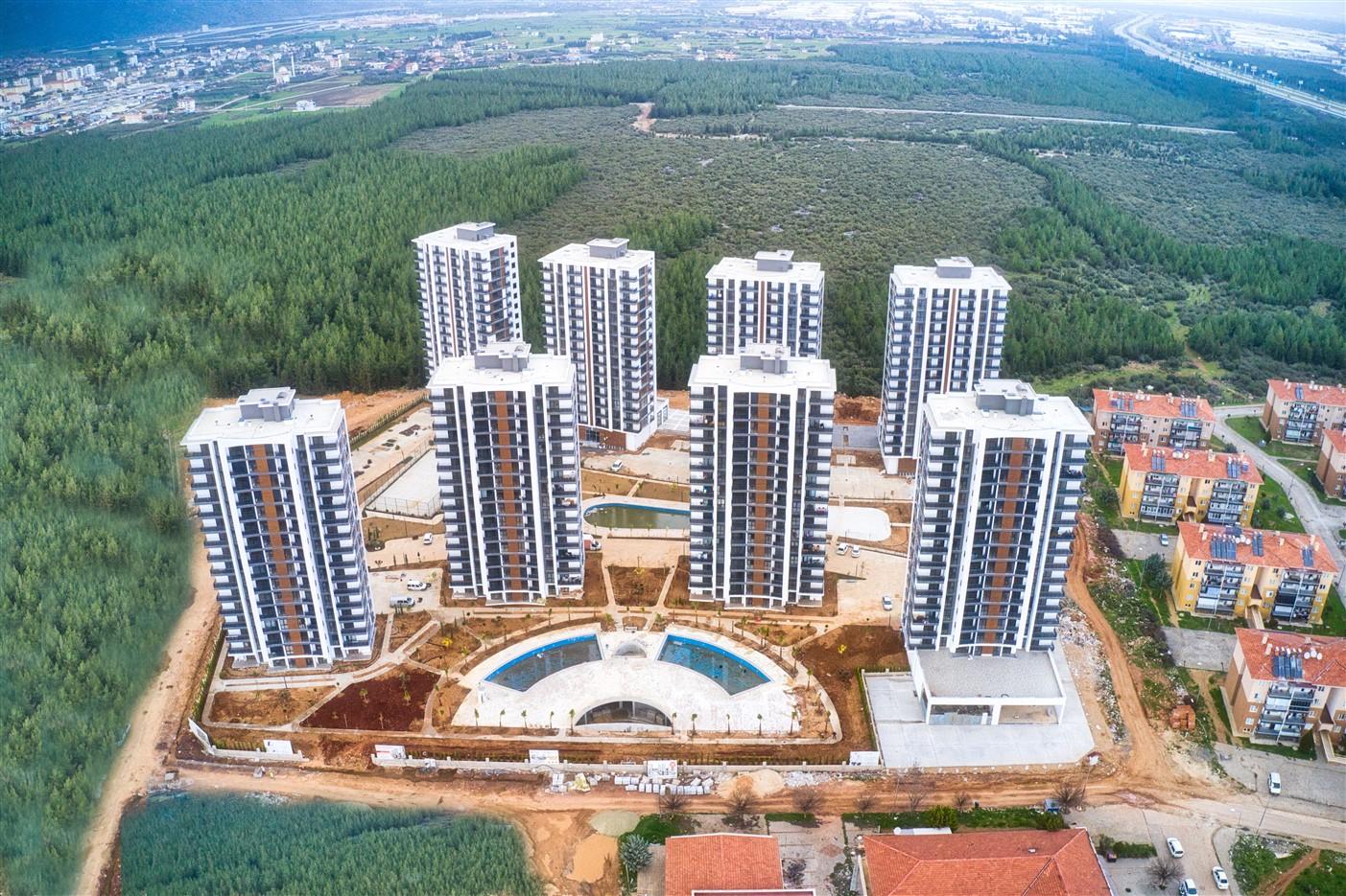Квартиры в новом комплексе в районе Дошемеалты Анталия - Фото 1