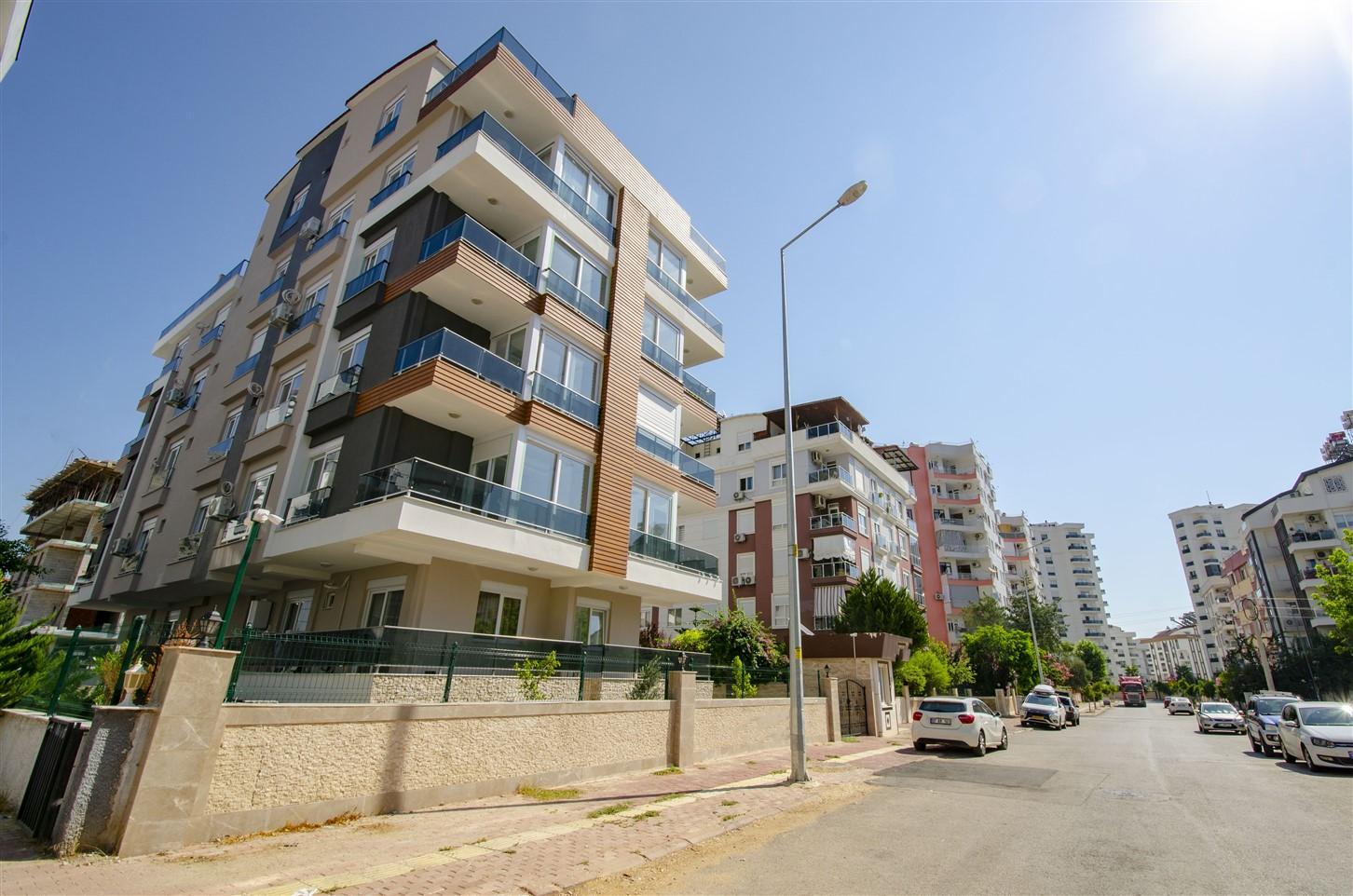 Квартиры в новом комплексе в районе Хурма Коньяалты Анталия - Фото 1