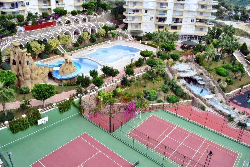 Просторные апартаменты 3+1 в Махмутларе - Фото 9