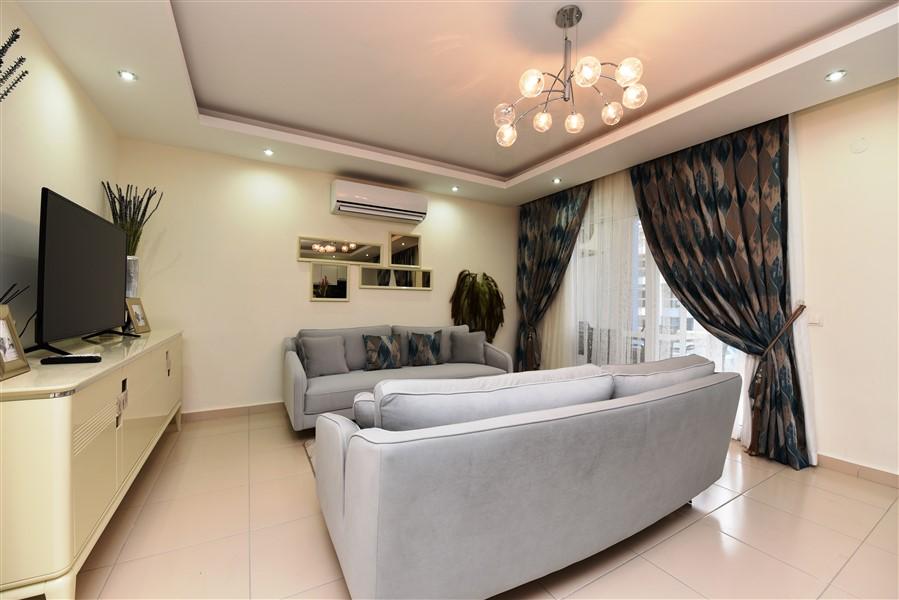 Дуплекс 2+1 с мебелью в комплексе района Кестель - Фото 7