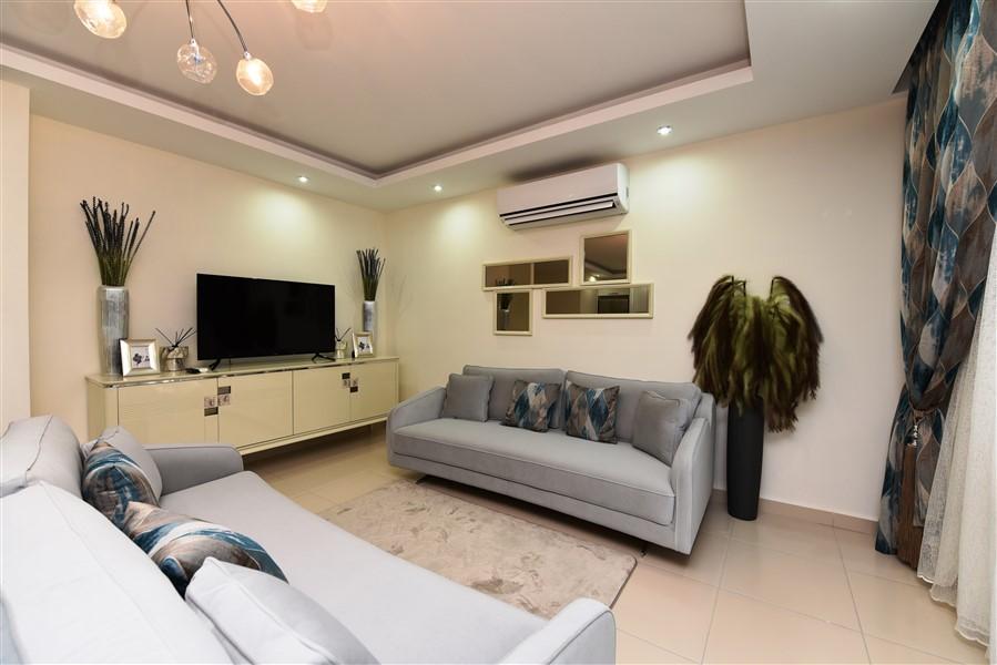 Дуплекс 2+1 с мебелью в комплексе района Кестель - Фото 8