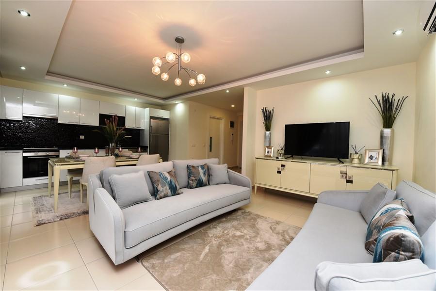 Дуплекс 2+1 с мебелью в комплексе района Кестель - Фото 9