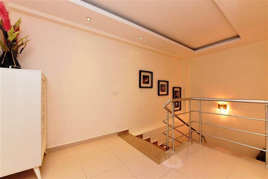 Дуплекс 2+1 с мебелью в комплексе района Кестель - Фото 19