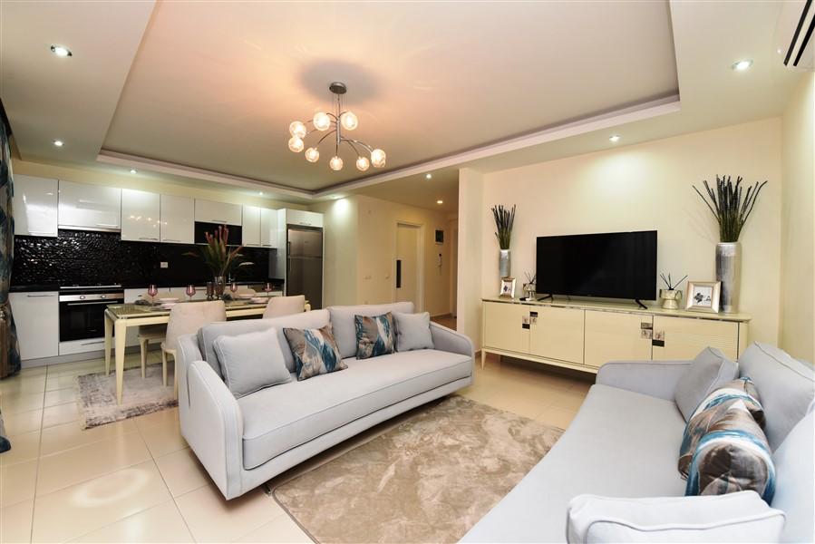 Дуплекс 2+1 с мебелью в комплексе района Кестель - Фото 32