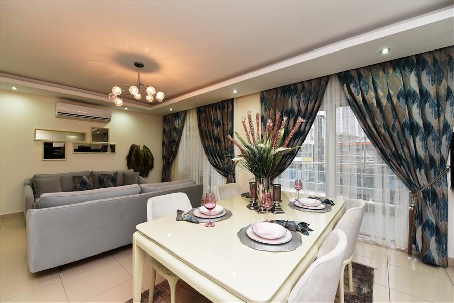 Дуплекс 2+1 с мебелью в комплексе района Кестель - Фото 34