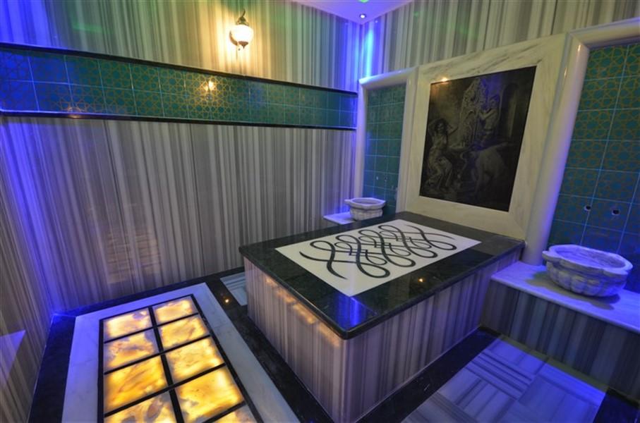 Дуплекс 2+1 с мебелью в комплексе района Кестель - Фото 39
