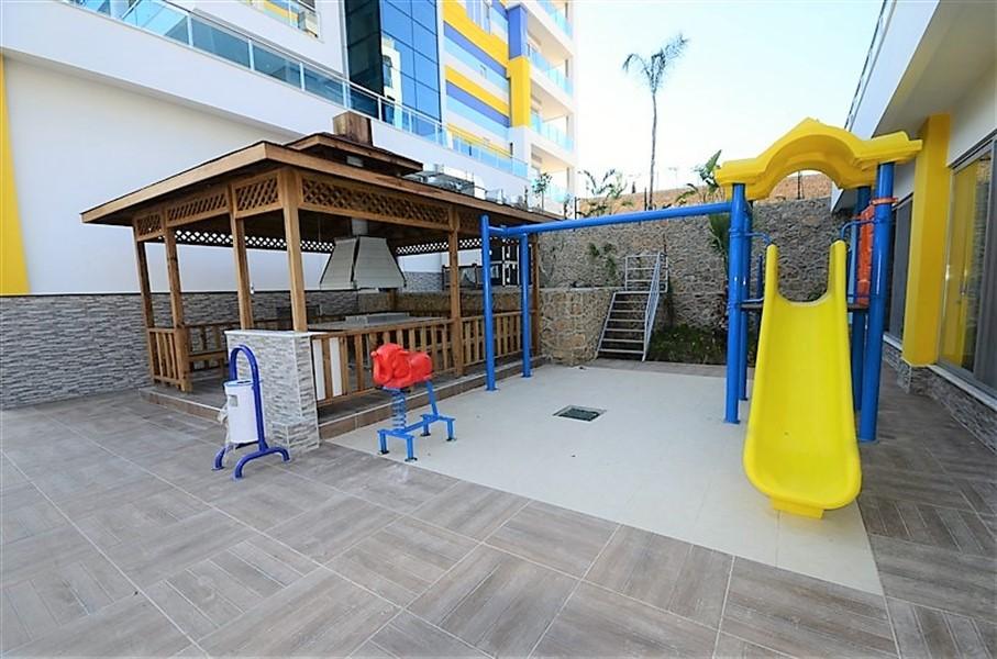 Дуплекс 2+1 с мебелью в комплексе района Кестель - Фото 42