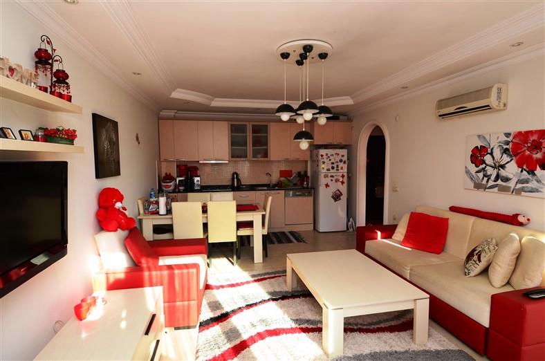 Квартира 1+1 с мебелью в районе Джикджилли - Фото 14