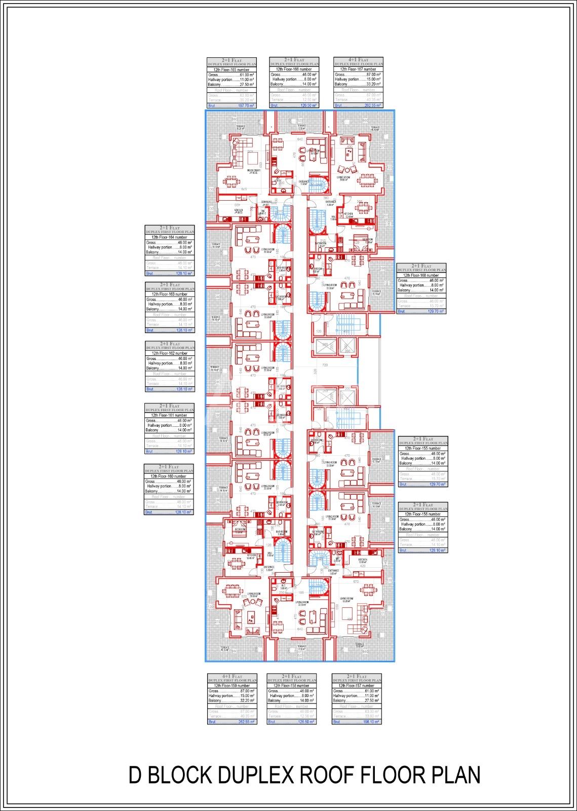 Квартиры всех типов планировок в Махмутларе - Фото 13