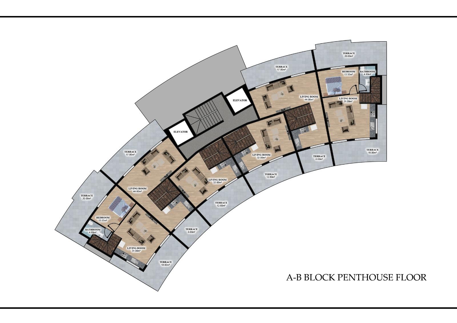 Квартиры в элитном комплексе район Оба (инвестиционный проект) - Фото 12
