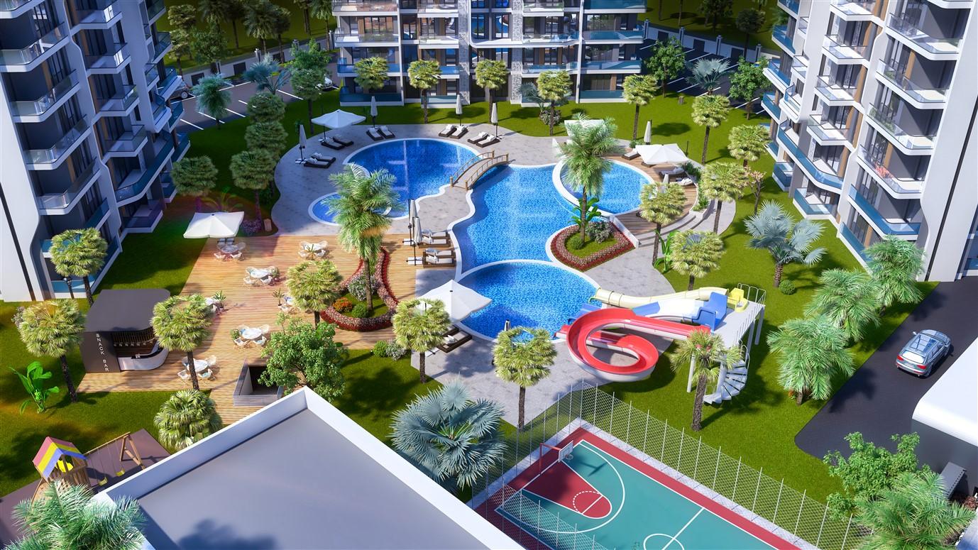 Современные квартиры в элитном комплексе Антальи - Фото 5