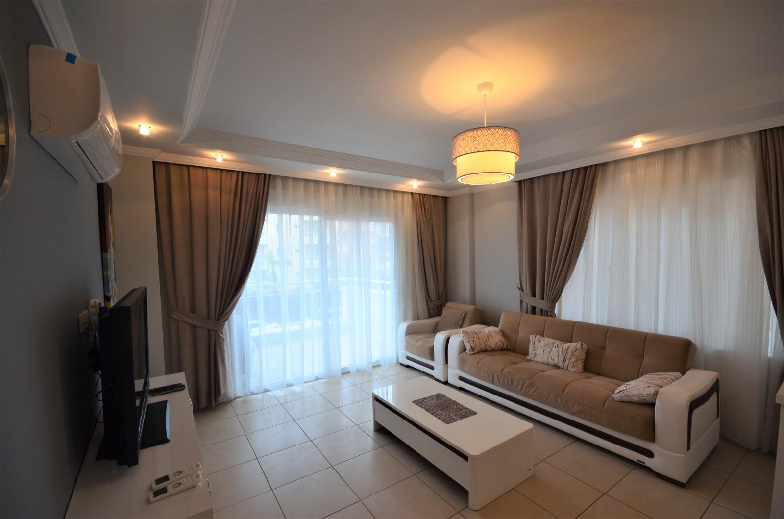 Двухкомнатная квартира с мебелью и бытовой техникой в районе Тосмур - Фото 8
