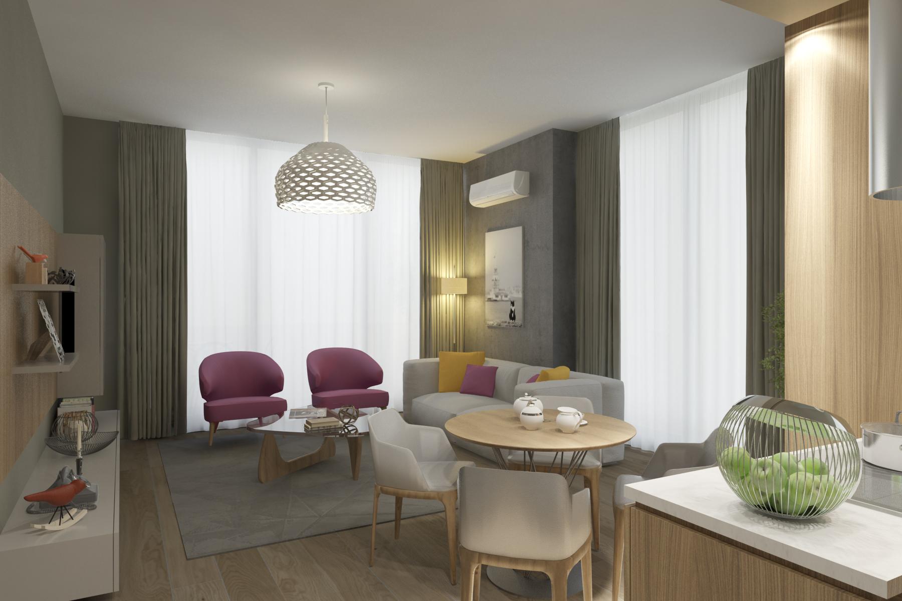 Трёхкомнатные квартиры в готовом проекте Стамбул - Фото 20