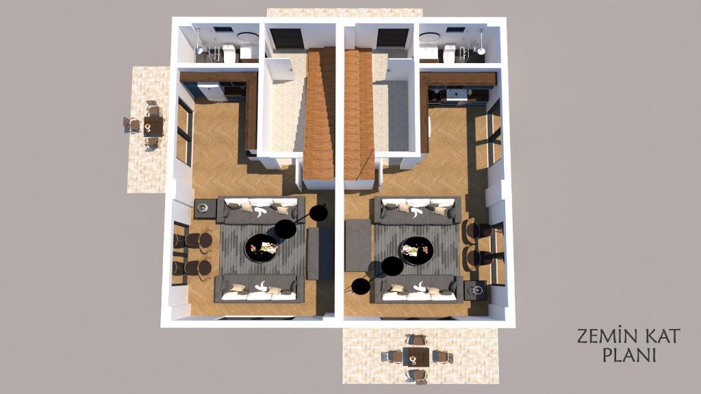 Новая вилла 4+1 недалеко от центра Фетхие - Фото 12