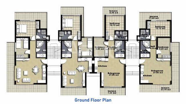 Апартаменты и пентхаусы к новом комплексе Белек - Фото 24