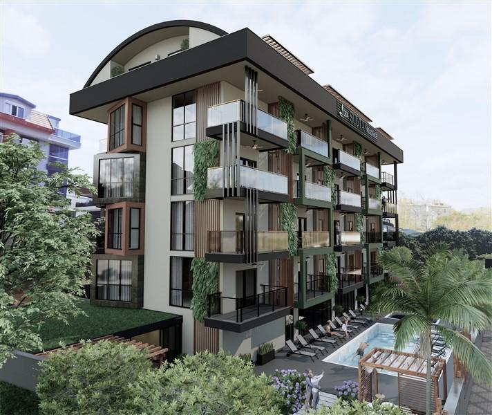 Новый инвестиционный проект жилого комплекса в районе Оба - Фото 2