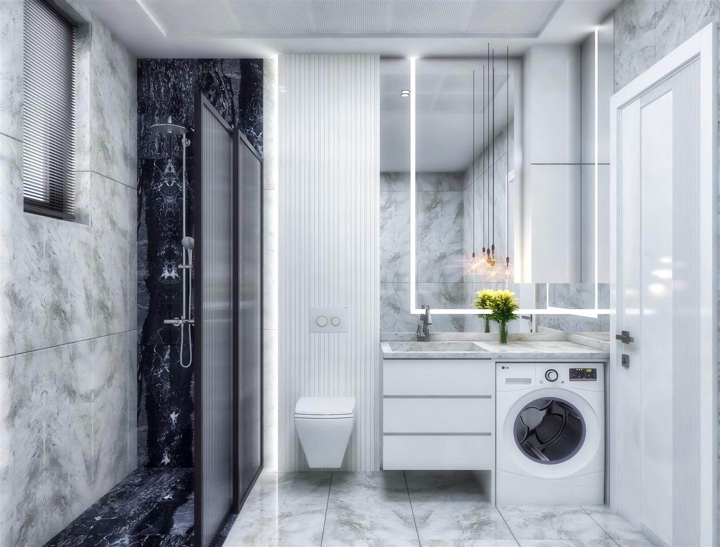 Современные квартиры в элитном комплексе Антальи - Фото 50