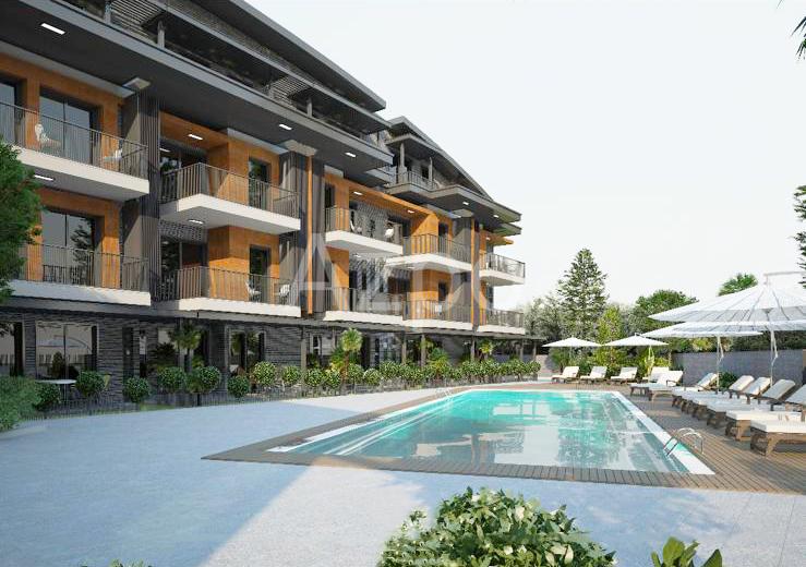 Квартиры 1+1 в инвестиционном проекте в Гюзельоба Лара - Фото 6