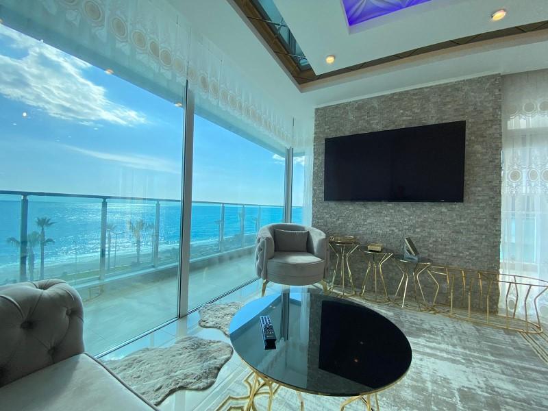 Меблированная квартира 2+1 с видом на Средиземное море - Фото 8