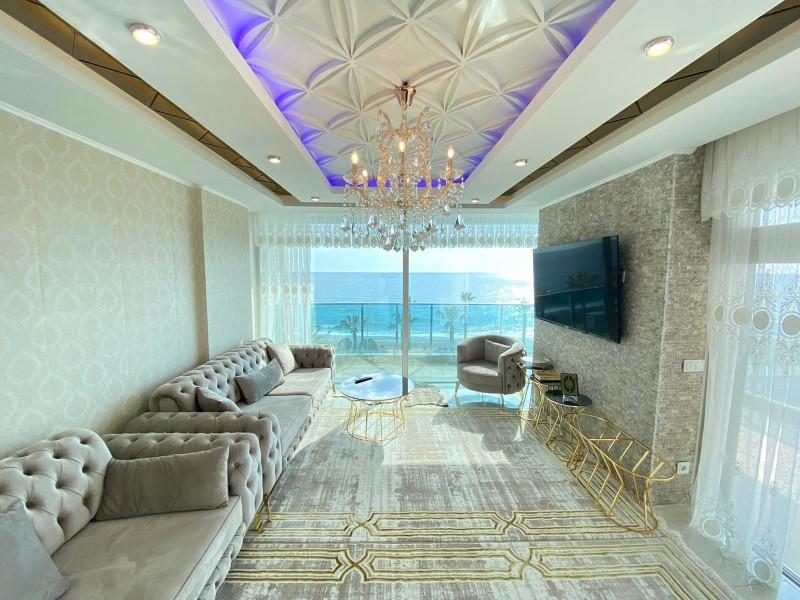 Меблированная квартира 2+1 с видом на Средиземное море - Фото 9