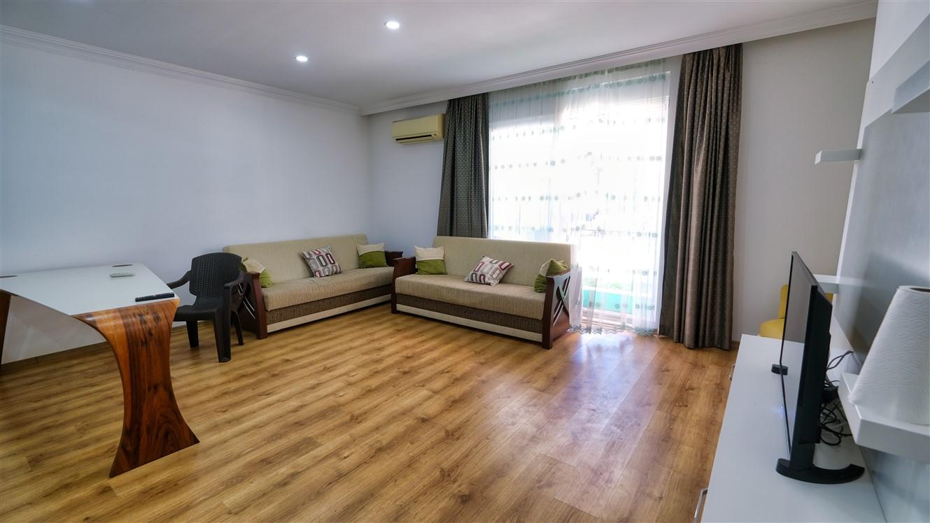 Двухкомнатная квартира с мебелью в элитном комплексе района Коньяалты - Фото 28
