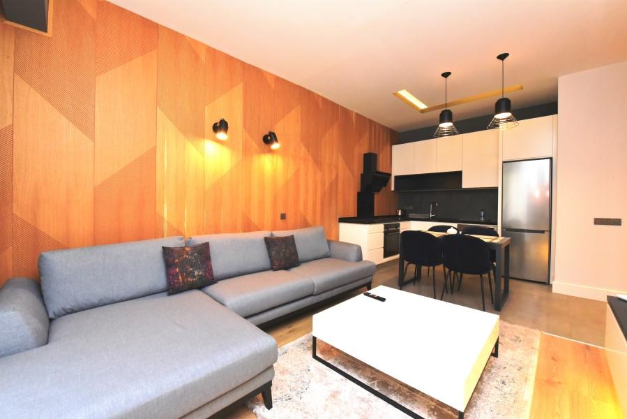 Двухкомнатная квартира с мебелью в районе пляжа Клеопатры - Фото 13