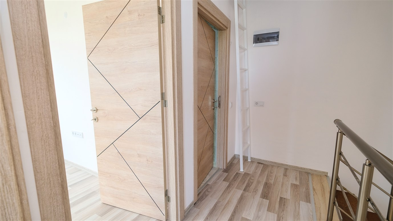 Двухэтажный дуплекс 3+1 в Анталье - Фото 10