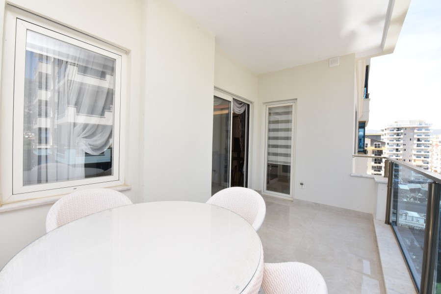 Трёхкомнатная квартира с мебелью в районе Махмутлар - Фото 20