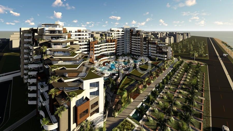 Luxury проект на первой береговой линии в Коньяалты Анталия - Фото 26