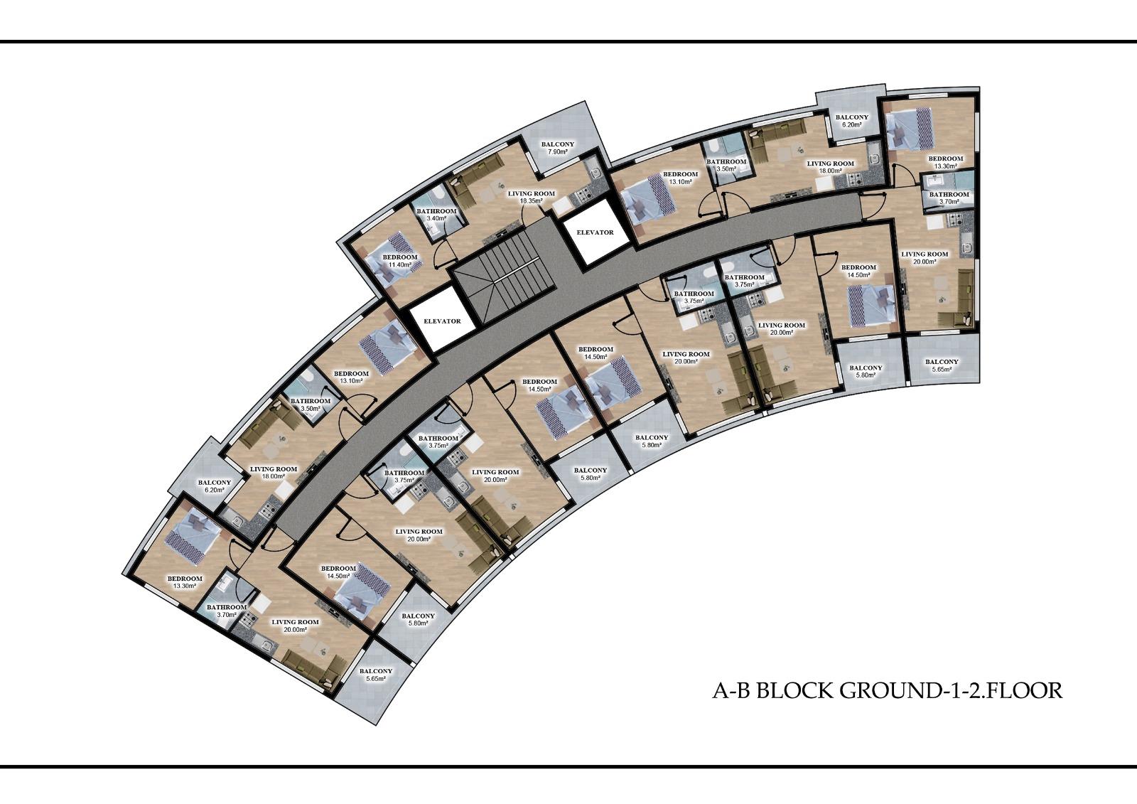 Квартиры в элитном комплексе район Оба (инвестиционный проект) - Фото 10