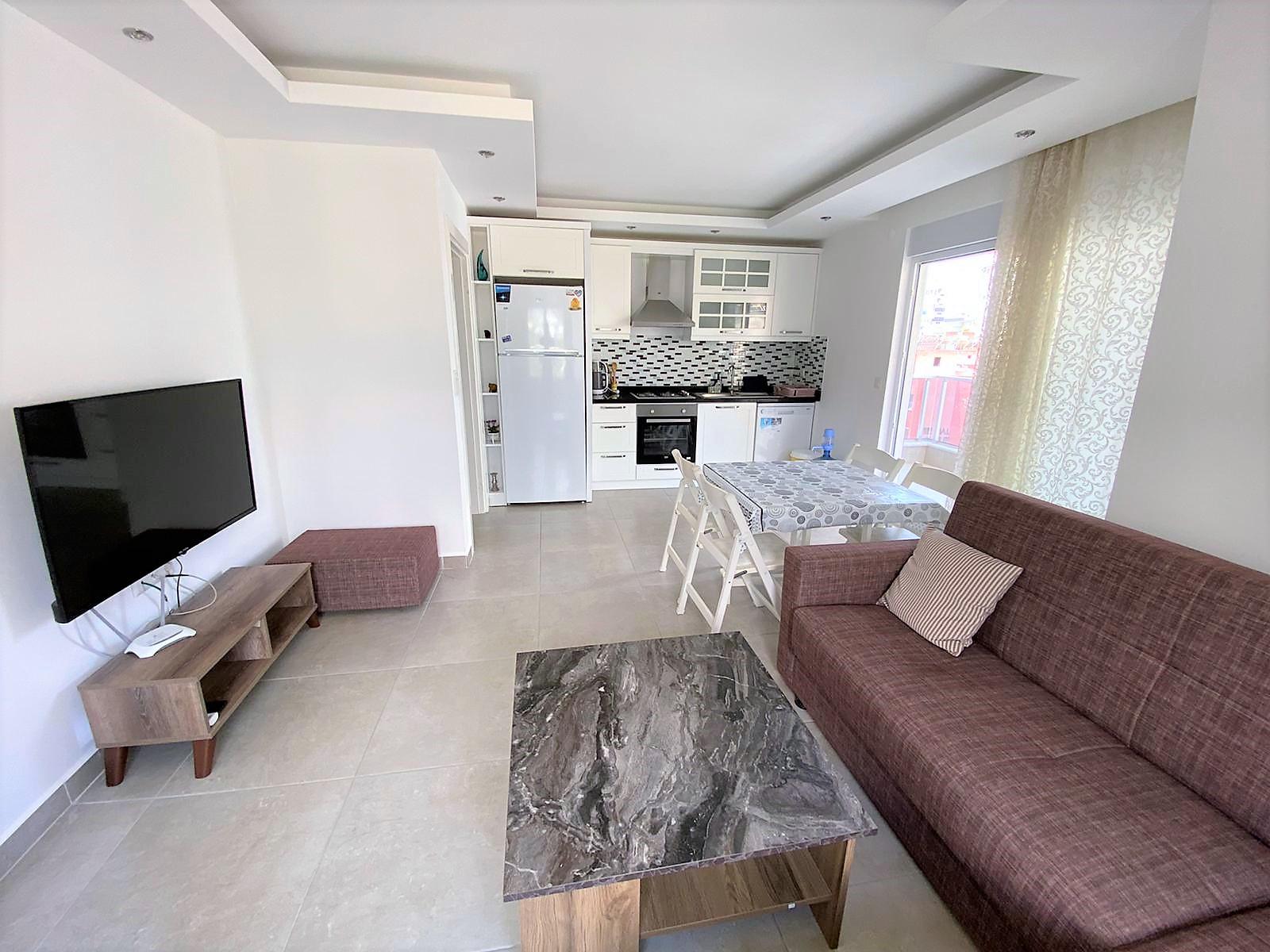 Квартира 1+1 в жилом комплексе района Махмутлар - Фото 10