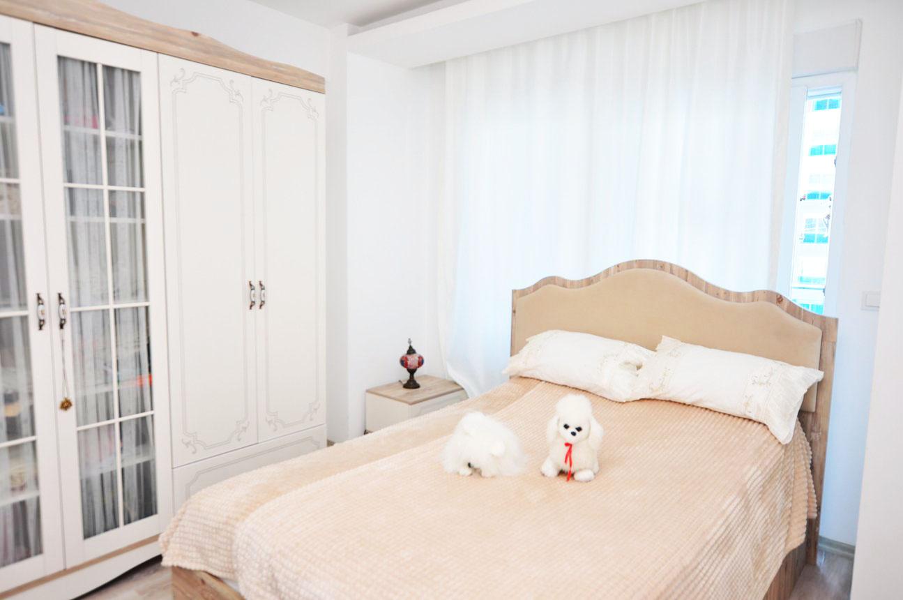 Двухкомнатная квартира с мебелью в Махмутларе - Фото 14