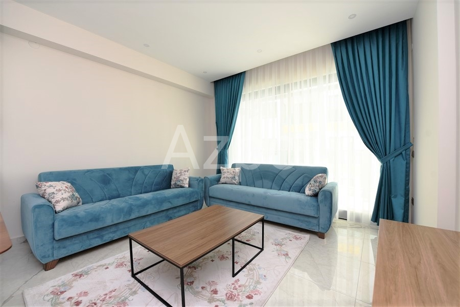 Меблированная квартира 1+1 в центре Алании - Фото 15