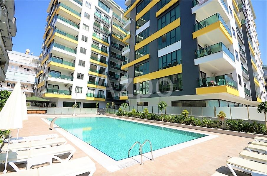 Меблированная квартира 1+1 в центре Алании - Фото 3
