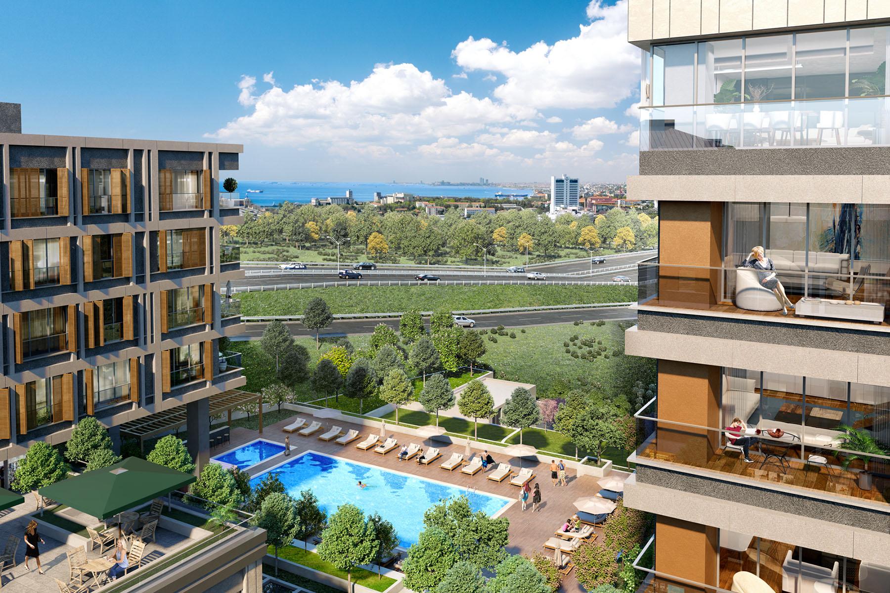 «Умные» квартиры в новом жилом комплексе Стамбула - Фото 9