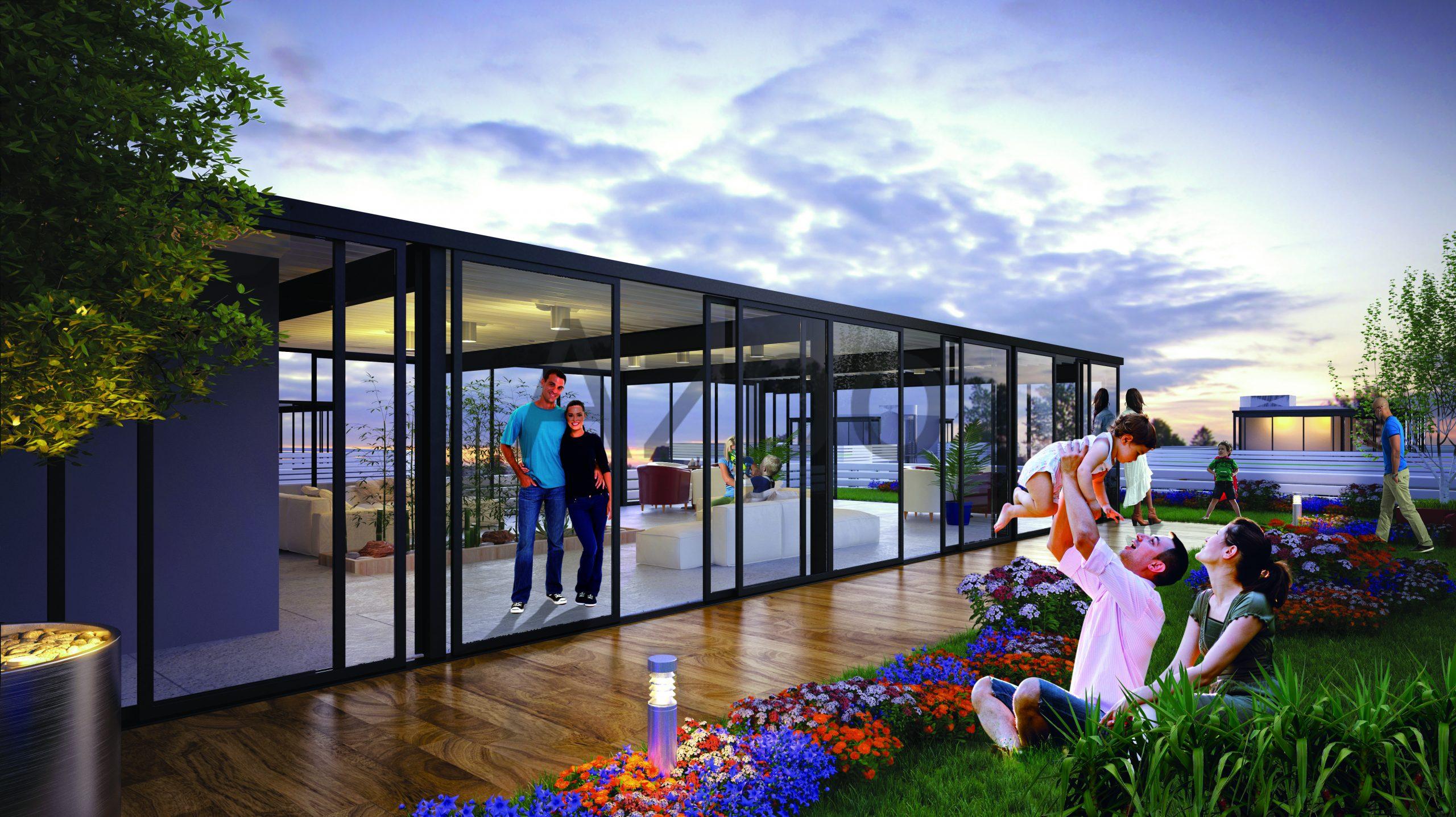 Квартиры в новом готовом комплексе в Стамбуле - Фото 1
