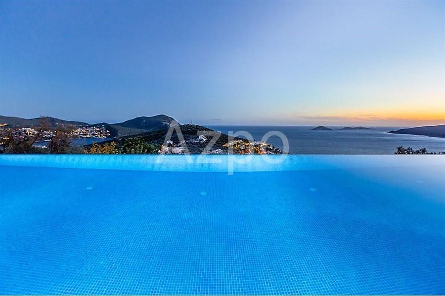 Роскошная вилла 5+1 с видом на Средиземное море - Фото 3