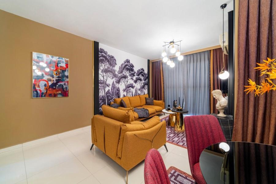 Уютная меблированная квартира 1+1 в роскошном жилом комплексе с инфраструктурой - Фото 29