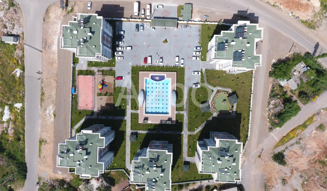 Квартиры 2+1 и 3+1 в районе Кепез Анталия - Фото 14