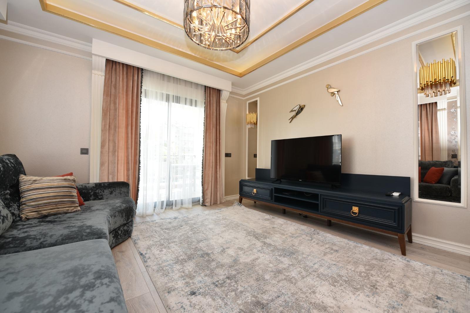 Роскошная трёхкомнатная квартира с мебелью - Фото 16