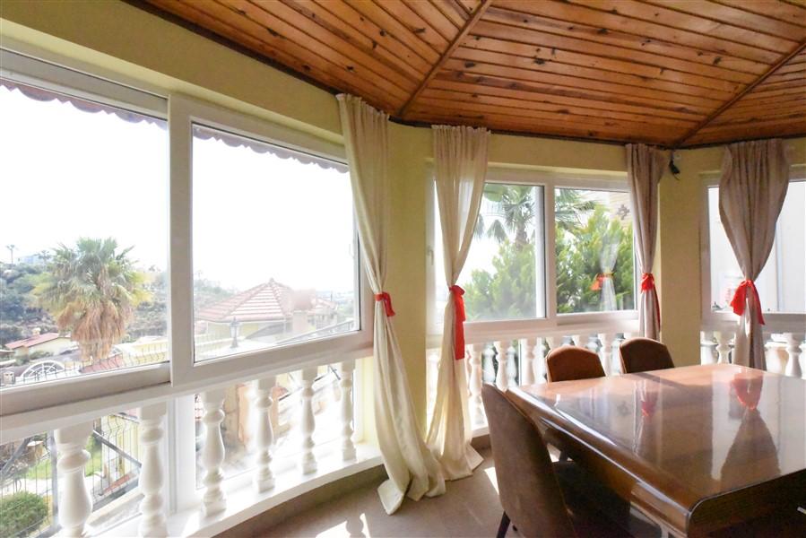 Меблированная вилла планировки 3+2 в районе Каргыджак - Фото 13