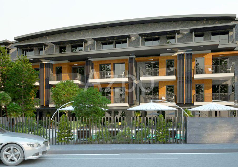 Квартиры 1+1 в инвестиционном проекте в Гюзельоба Лара - Фото 3