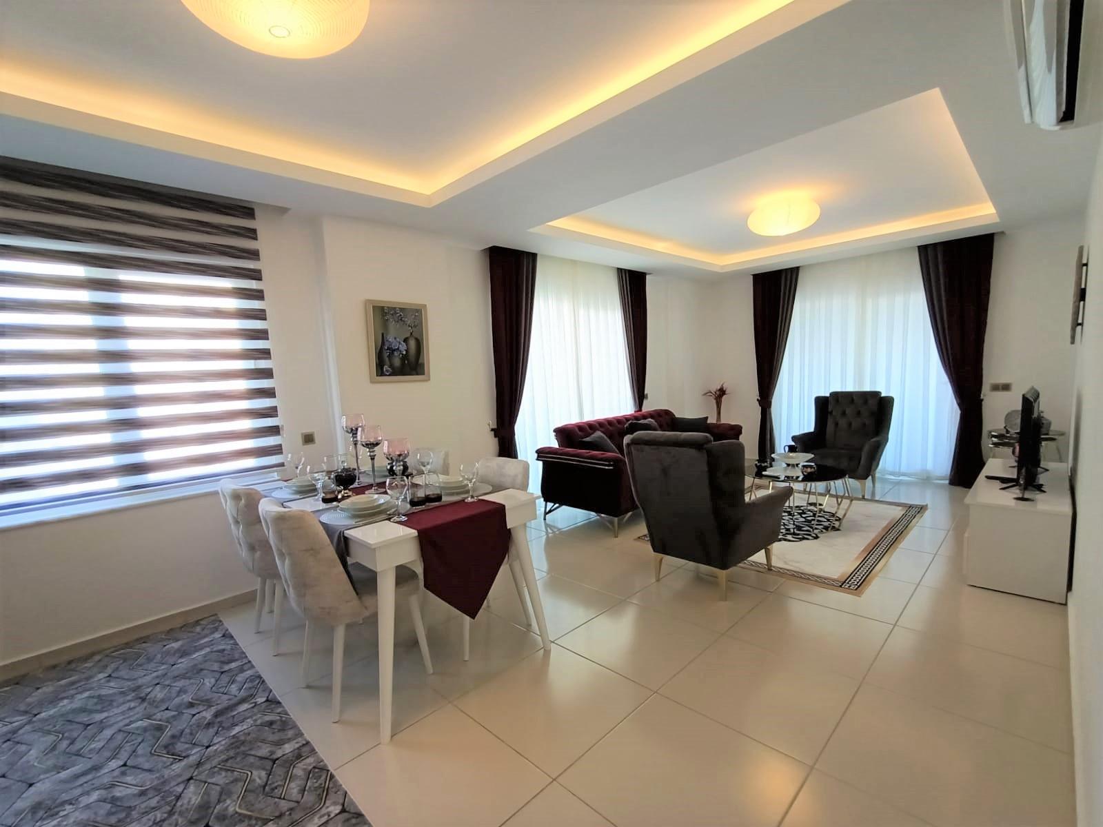 Двухкомнатная квартира с мебелью в районе Махмутлар - Фото 5